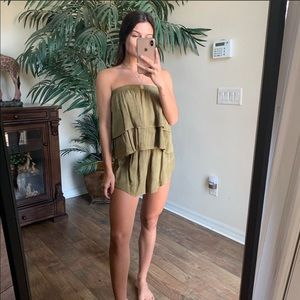 Blue Life Marion Tiered Romper